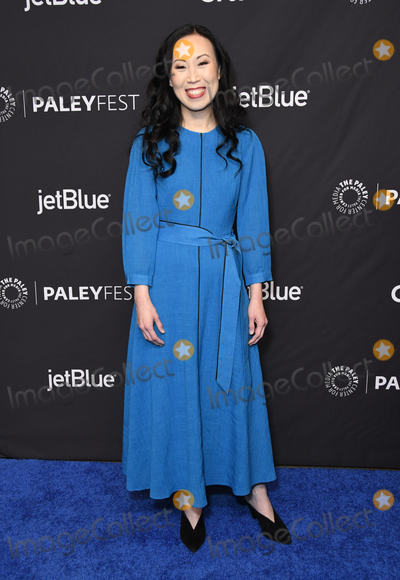 "Angela Kang Photo - 22 March 2019 - Hollywood, California - Angela Kang. 2019 PaleyFest LA - AMC's ""The Walking Dead"" held at The Dolby Theater. Photo Credit: Birdie Thompson/AdMedia"