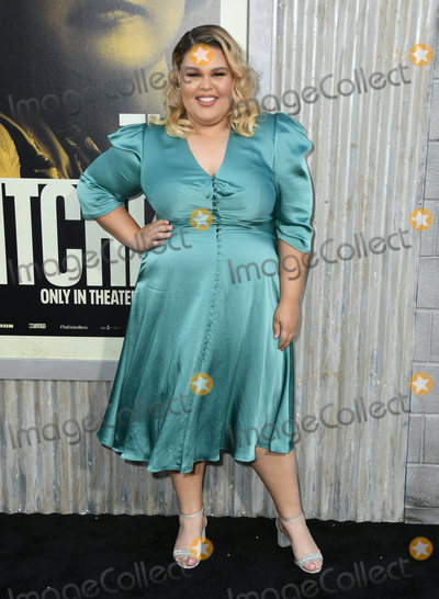 """Britney Young, TCL Chinese Theatre Photo - 05 August 2019 - Hollywood, California - Britney Young. """"The Kitchen"""" Los Angeles Premiere held at TCL Chinese Theatre. Photo Credit: Birdie Thompson/AdMedia"""