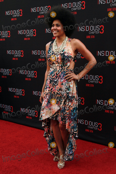"""Amaris Davidson, TCL Chinese Theatre Photo - 04, June 2015 - Hollywood, California - Amaris Davidson arrives at the Insidious: """"Chapter 3"""" World Premiere at the TCL Chinese Theatre in Hollywood, California. Photo Credit: Theresa Bouche/AdMedia"""
