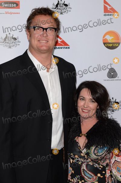 Luc Longley, Anna Gare Photo - 12 January 2013 - Los Angeles, California - Luc Longley, Anna Gare. The G'Day USA Black Tie Gala held at the the JW Marriot at LA Live . Photo Credit: Tonya Wise/AdMedia