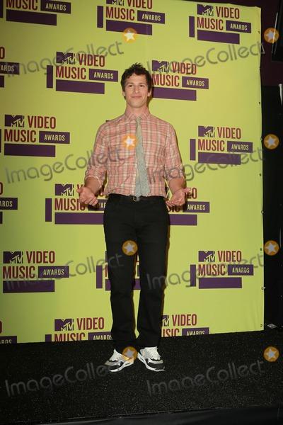 Andy Sandberg Photo - 6 September 2012 - Los Angeles, California - Andy Sandberg. 2012 MTV Video Music Awards held at Staples Center. Photo Credit: Kevan Brooks/AdMedia