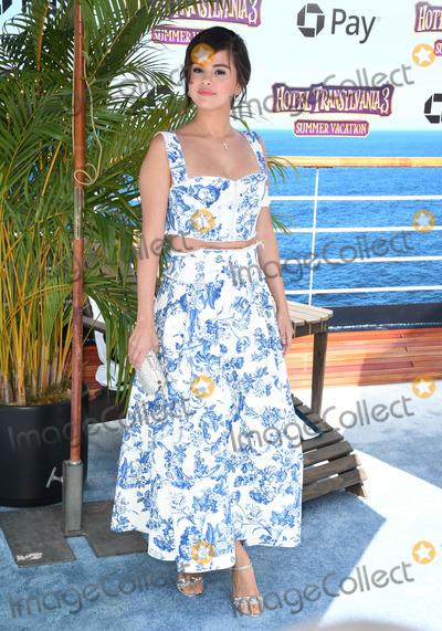 "Selena Gomez, Gomez Photo - 30 June 2018 - Westwood, California - Selena Gomez. ""Hotel Transylvania 3: Summer Vacation"" Los Angeles Premiere held at Regency Village Theater . Photo Credit: Birdie Thompson/AdMedia"