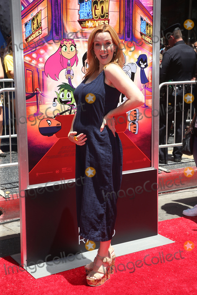 "Annie Wersching, TCL Chinese Theatre Photo - 22 July 2018 - Hollywood, California - Annie Wersching. Teen Titans Go! to the Movies"" held at the TCL Chinese Theatre. Photo Credit: Faye Sadou/AdMedia"