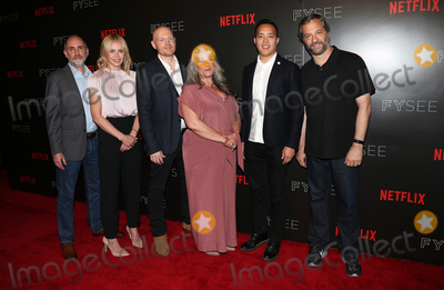 Chelsea Handler, Judd Apatow, Marta Kauffman, Bill Burr, Alan Yang, Victor Fresco Photo - 23 May 2017 -  Beverly Hills, California - Victor Fresco, Chelsea Handler, BIll Burr, Marta Kauffman, Alan Yang, Judd Apatow. Netflix Comedy Panel For Your Consideration Event held at Netflix FYSee Space. Photo Credit: Faye Sadou/AdMedia