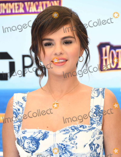 "Selena Gomez, Gomez Photo - 30 June 2018 - Westwood, California - Selena Gomez. ""Hotel Transylvania 3: Summer Vacation"" Los Angeles Premiere held at Regency Village Theater . Photo Credit: Birdie Thompson/AdMedia"