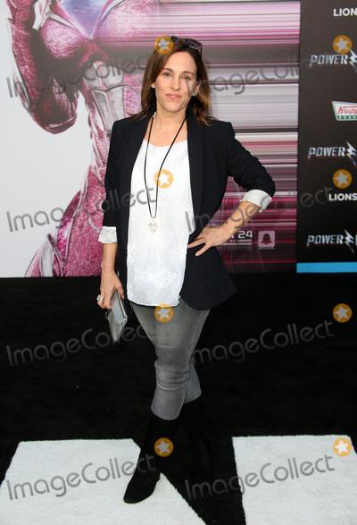 "Amy Jo Johnson, Ranger$ Photo - 22 March 2017 -  Westwood, California - Amy Jo Johnson. Premiere Of Lionsgate's ""Power Rangers"" held at The Westwood Village Theatre. Photo Credit: Faye Sadou/AdMedia"