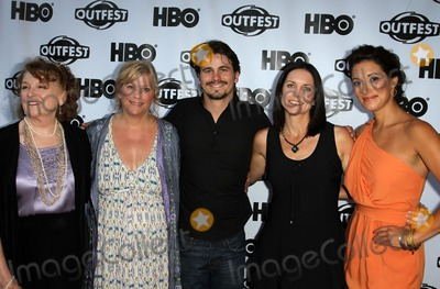 """Jason Ritter, Anne Renton, Rebecca Wackler, Angelique Cabral, Angelique  Cabral Photo - 17 July 2011 - West Hollywood, California - Rebecca Wackler, Connie Cummings, Jason Ritter, Anne Renton, Angelique Cabral. 2011 Outfest Film Festival Screening Of """"The Perfect Family"""" Closing Night- Arrivals  Held At The DGA Theatre. Photo Credit: Kevan Brooks/AdMedia"""