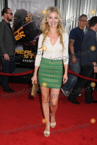 "Anita Briem-Paraskevopoulos, Anita Briem Photo - 2 October 2011 - Universal City, California - Anita Briem-Paraskevopoulos. ""Real Steel"" Los Angeles Premiere held at Universal Gibson Amphitheatre. Photo Credit: Byron Purvis/AdMedia"