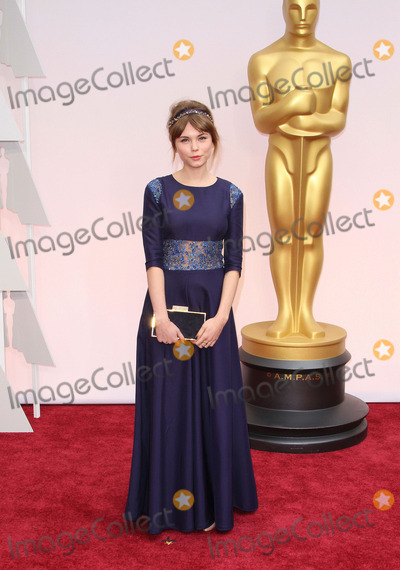 Agata Trzebuchowska Photo - 22 February 2015 - Hollywood, California - Agata Trzebuchowska. 87th Annual Academy Awards presented by the Academy of Motion Picture Arts and Sciences held at the Dolby Theatre. Photo Credit: AdMedia