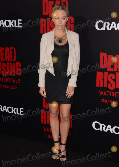 "Kendra Wilkinson, Kim Novak Photo - 11 March 2015 - Los Angeles, California - Kendra Wilkinson.  Arrivals for Crackle's world premiere original feature film ""Dead Rising: Watchtower"" held at the Kim Novak Theater at Sony Pictures Studios. Photo Credit: Birdie Thompson/AdMedia"