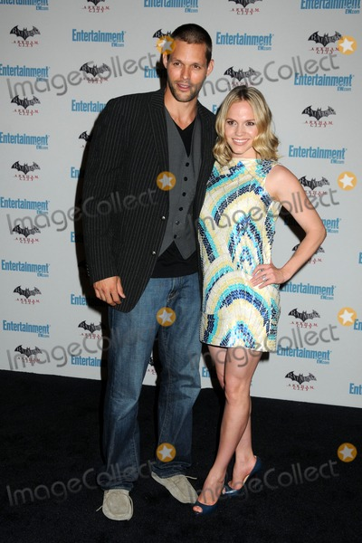 Alexa Havins, Justin Bruening Photo - 23 July 2011 - San Diego, California - Justin Bruening and Alexa Havins. 5th Annual Entertainment Weekly Comic-Con Party held at The Hard Rock Cafe. Photo Credit: Byron Purvis/AdMedia