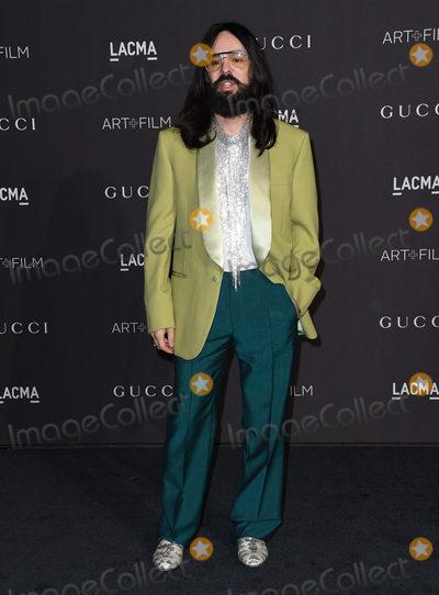 Alessandro Michele Photo - 03 November 2018 - Los Angeles, California - Alessandro Michele. 2018 LACMA Art + Film Gala held at LACMA. Photo Credit: Birdie Thompson/AdMedia