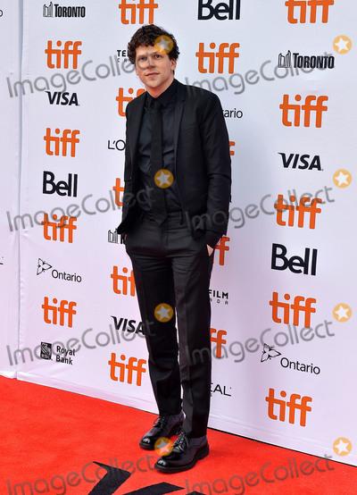 "Jesse Eisenberg, Princess of Wales, Wale Photo - 08 September 2018 - Toronto, Ontario, Canada - Jesse Eisenberg. ""The Hummingbird Project"" Premiere - 2018 Toronto International Film Festival held at the Princess of Wales Theatre. Photo Credit: Brent Perniac/AdMedia"