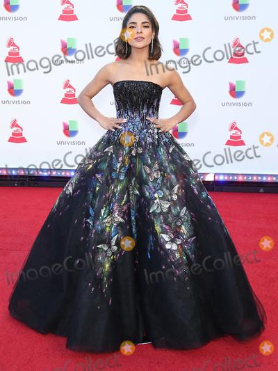Alejandra Espinoza Photo - 15 November 2018 - Las Vegas, NV - Alejandra Espinoza.  2018 Latin Grammy arrivals at MGM Grand Garden Arena. Photo Credit: MJT/AdMedia