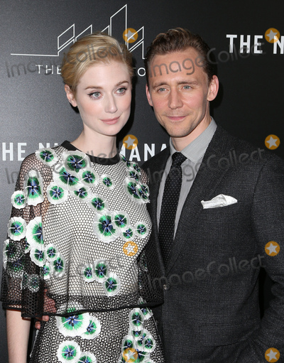 "Tom Hiddleston, Tom Hiddlestone, Tom   Hiddleston, Elizabeth Debicki Photo - 05 April 2016 - West Hollywood, Elizabeth Debicki, Tom Hiddleston. Premiere Of AMC's ""The Night Manager"" at The DGA Theater. Photo Credit: F.Sadou/AdMedia"
