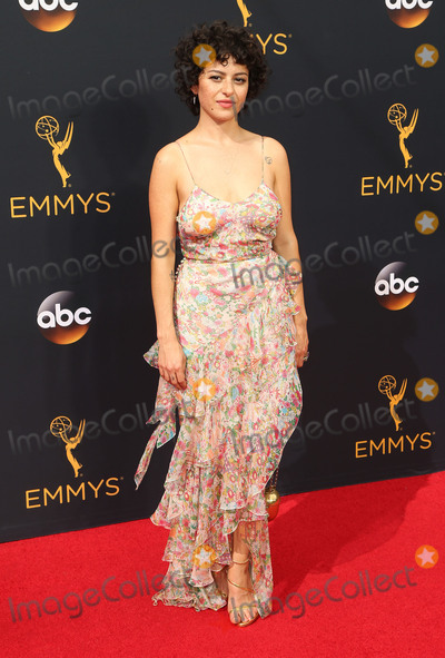 Alia Shawkat, Alias Photo - 18 September 2016 - Los Angeles, California - Alia Shawkat. 68th Annual Primetime Emmy Awards held at Microsoft Theater. Photo Credit: AdMedia