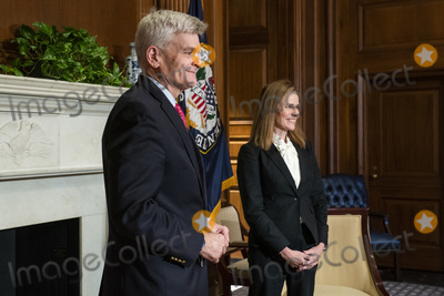 Cassidy, Supremes, The Used, Bill Cassidy, Supreme Court Photo - Judge Amy Coney Barrett (R), United States President Donald J. Trumps nominee for associate justice of the US Supreme Court, meets with US Senator Bill Cassidy (Republican of Louisiana) (L) in the US Capitol in Washington, DC, USA, 01 October 2020. Supreme Court Nominee Judge Amy Coney Barrett is meeting individually with Senators this week prior to her confirmation hearings, scheduled to start 12 October.Credit: Jim LoScalzo / Pool via CNP/AdMedia