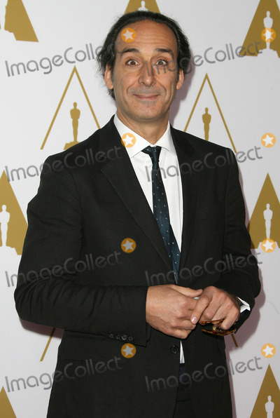 Alexandre Desplat Photo - 10 February 2014 - Los Angeles, California - Alexandre Desplat. 86th Oscars Nominee Luncheon held at the Beverly Hilton Hotel. Photo Credit: AdMedia