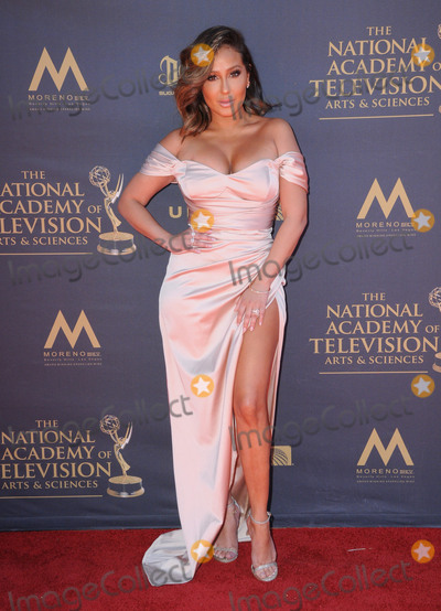 Adrienne Bailon, (+44), +44 Photo - 30 April 2017 - Pasadena, California - Adrienne Bailon Houghton. 44th Annual Daytime Emmy Awards held at Pasadena Civic Centerin Pasadena. Photo Credit: Birdie Thompson/AdMedia