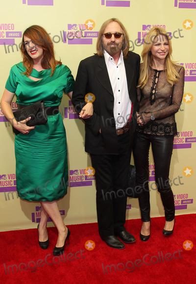 Adria Petty, Tom Petty Photo - 6 September 2012 - Los Angeles, California - Tom Petty, daughter Adria Petty, wife Dana York. 2012 MTV Video Music Awards held at Staples Center. Photo Credit: Russ Elliot/AdMedia