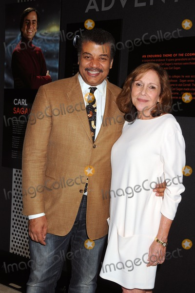 "Ann Druyan, Anna Maria Perez de Taglé, Hüsker Dü, Isaach De Bankolé Photo - 3 August 2014 - Beverly Hills, California - Neil DeGrasse Tyson, Ann Druyan. ""Cosmos: A Spacetime Odyssey"" Screening and Q&A Panel held at The Paley Center For Media. Photo Credit: Byron Purvis/AdMedia"