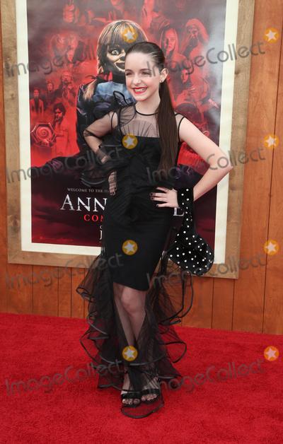 "Mckenna Grace Photo - 20 June 2019 - Westwood, California - Mckenna Grace. The Premiere Of Warner Bros' ""Annabelle Comes Home""  held at Regency Village Theatre. Photo Credit: Faye Sadou/AdMedia"