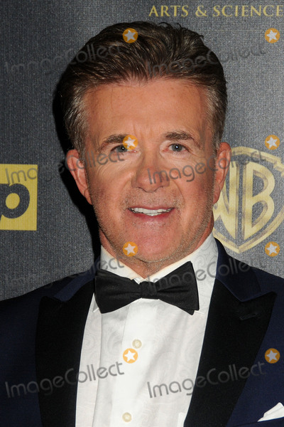 Alan Thicke, Robin Thicke Photo - 13 December 2016 - Burbank, California - Alan Thicke, beloved TV dad and real-life father of R&B and pop superstar Robin Thicke, died Tuesday at age 69, of a heart attack while playing hockey with his 19 year-old son Carter Thicke. File Photo: 26 April 2015 - Burbank, California - Alan Thicke. The 42nd Annual Daytime Emmy Awards - Press Room held at Warner Bros. Studios. Photo Credit: Byron Purvis/AdMedia