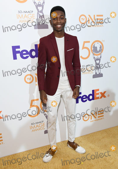 Niles Fitch, Fitch Photo - 09 March 2019 - Hollywood, California - Niles Fitch. 50th NAACP Image Awards Nominees Luncheon held at the Loews Hollywood Hotel. Photo Credit: Birdie Thompson/AdMedia