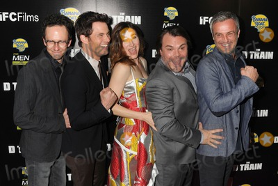 "Jack Black, James Marsden, Kathryn Hahn, Paul James, Train, Jarrad Paul, Andrew Mogel, Jackée Photo - 27 April 2015 - Hollywood, California - Jarrad Paul, James Marsden, Kathryn Hahn, Jack Black, Andrew Mogel. ""D Train"" Los Angeles Premiere held at Arclight Cinemas. Photo Credit: Byron Purvis/AdMedia"