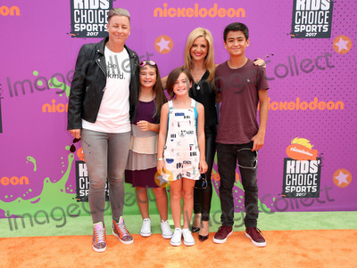 Abby Wambach Photo - 13 July 2017 - Los Angeles, California - Abby Wambach, Glennon Doyle Melton, Tish Melton. Nickelodeon Kids' Choice Sports Awards 2017 held at Pauley Pavilion. Photo Credit: F. Sadou/AdMedia