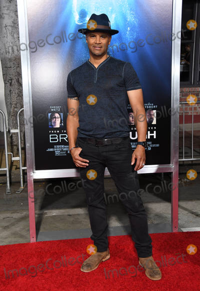 """Dondre Whitfield Photo - 11 April 2019 - Westwood, California - Dondre Whitfield. """"Breakthrough"""" Los Angeles Premiere held at Regency Village Theater. Photo Credit: Birdie Thompson/AdMedia"""
