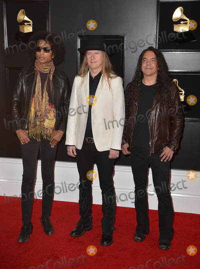 Alice in Chains, Jerry Cantrell, Mike Inez, Grammy Awards, Hüsker Dü Photo - 10 February 2019 - Los Angeles, California - William DuVall, Jerry Cantrell, and Mike Inez of Alice In Chains. 61st Annual GRAMMY Awards held at Staples Center. Photo Credit: AdMedia