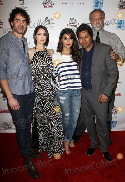 Dileep Rao, Emmanuelle Chriqui, Michelle Borth, Rush, Jayson Blair, Abe Benrubi Photo - 19 February 2012 - Los Angeles, California - Jayson Blair, Michelle Borth, Emmanuelle Chriqui, Dileep Rao, Abe Benrubi. 2nd Annual Hollywood Rush Benefiting The Baby Dragon Fund Held At The Wilshire Ebell Theatre. Photo Credit: Kevan Brooks/AdMedia