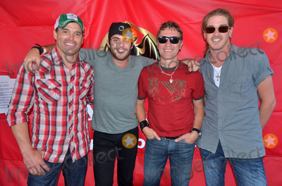 "James Wesley, Thomas Rhett, Bucky Covington, Craig Morgan Photo - 24 May 2012 - Pittsburgh, PA -  Countrymusic artists JAMES WESLEY, THOMAS RHETT, CRAIG MORGAN and BUCKY COVINGTON pose for a photo after their performance at the first ever ""Y108 EIGHT-MAN JAM"" held at Rivers Casino. Photo Credit: Jason L Nelson/AdMedia"