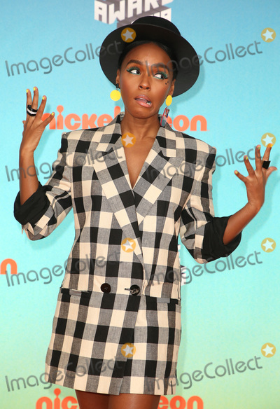 Janelle Monae, Janell Monae Photo - 23 March 2019 - Los Angeles, California - Janelle Monae. 2019 Nickelodeon Kids' Choice Awards held at The USC Galen Center. Photo Credit: Faye Sadou/AdMedia