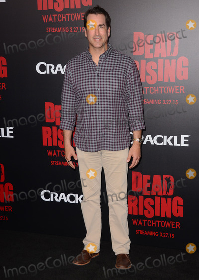 "Rob Riggle, Kim Novak Photo - 11 March 2015 - Los Angeles, California - Rob Riggle.  Arrivals for Crackle's world premiere original feature film ""Dead Rising: Watchtower"" held at the Kim Novak Theater at Sony Pictures Studios. Photo Credit: Birdie Thompson/AdMedia"