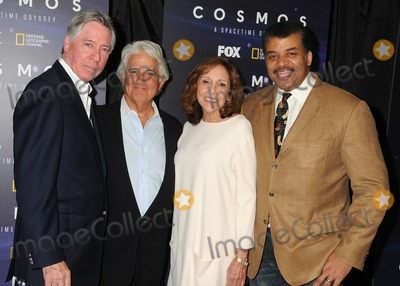 "Alan Silvestri, Ann Druyan, Mitchell Cannold, Anna Maria Perez de Taglé, Hüsker Dü, Isaach De Bankolé Photo - 3 August 2014 - Beverly Hills, California - Alan Silvestri, Mitchell Cannold, Ann Druyan, Neil DeGrasse Tyson. ""Cosmos: A Spacetime Odyssey"" Screening and Q&A Panel held at The Paley Center For Media. Photo Credit: Byron Purvis/AdMedia"
