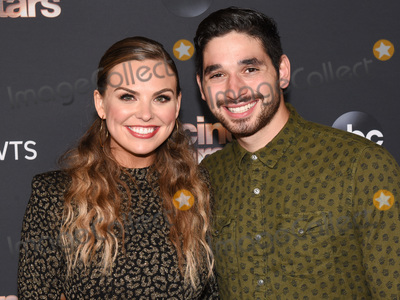 """Alan Bersten, Hannah Brown Photo - 04 November 2019 - Los Angeles, California - Hannah Brown, Alan Bersten. """"Dancing With The Stars"""" Season 28 Top Six Finalists event held at Dominque Ansel at The Grove. Photo Credit: Billy Bennight/AdMedia"""