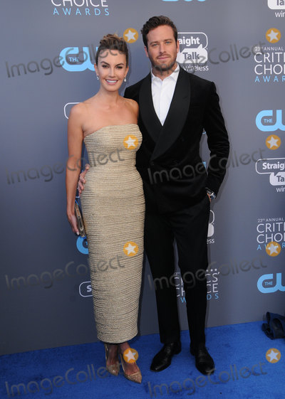 Armie Hammer Photo - 11 January 2018 - Santa Monica, California - Armie Hammer. 23rd Annual Critics' Choice Awards held at Barker Hangar. Photo Credit: Birdie Thompson/AdMedia
