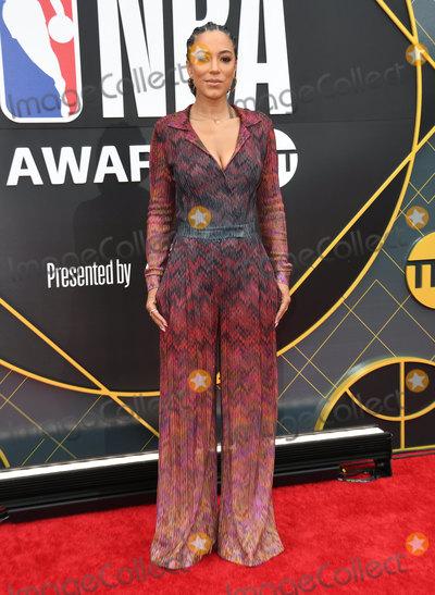 Angela Rye Photo - 24 June 2019 - Santa Monica, California - Angela Rye. 2019 NBA Awards held at the Barker Hangar. Photo Credit: Birdie Thompson/AdMedia