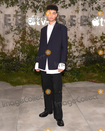 """Archie Madekwe Photo - 21 October 2019 - Westwood, California - Archie Madekwe. World Premiere of Apple TV+'s """"See"""" held at Fox Village Theater. Photo Credit: Billy Bennight/AdMedia"""
