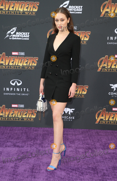 "Alycia Debnam-Carey Photo - 23 April 2018 - Hollywood, California - Alycia Debnam Carey. Disney and Marvel's ""Avengers: Infinity War"" Los Angeles Premiere held at Dolby Theater. Photo Credit: F. Sadou/AdMedia"