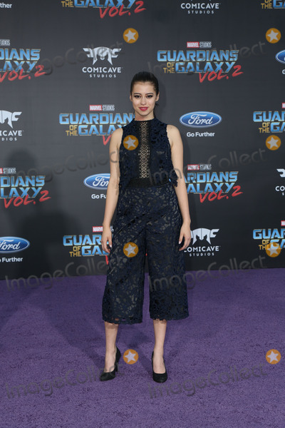 """Amber Midthunder Photo - 19 April 2017 - Hollywood, California - Amber Midthunder. Premiere Of Disney And Marvel's """"Guardians Of The Galaxy Vol. 2"""" held at Dolby Theatre. Photo Credit: PMA/AdMedia"""