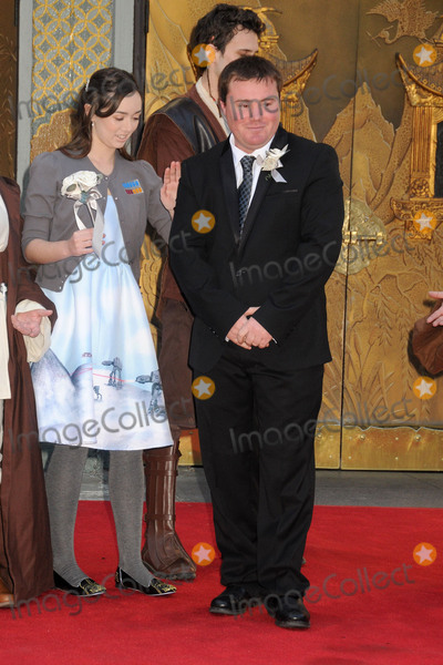 """Andrew Porters, TCL Chinese Theatre Photo - 17 December 2015 - Hollywood, California - Andrew Porters. Fans Get Married With """"Star Wars"""" Themed Wedding held at the TCL Chinese Theatre IMAX. Photo Credit: Byron Purvis/AdMedia"""