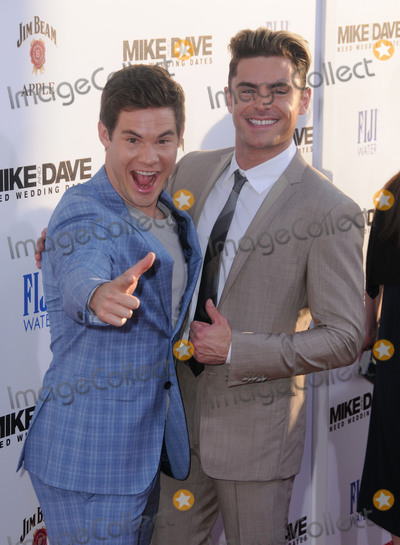"Zac Efron, Adam DeVine Photo - 29 June 2016 - Hollywood. Adam Devine, Zac Efron. Arrivals for the Premiere Of 20th Century Fox's ""Mike And Dave Need Wedding Dates"" held at Cinerama Dome at ArcLight Hollywood. Photo Credit: Birdie Thompson/AdMedia"