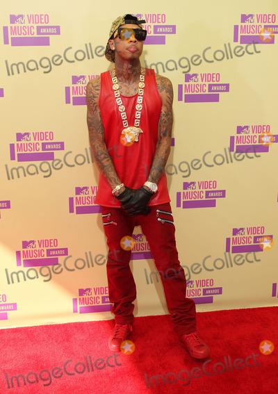 Tyga Photo - 6 September 2012 - Los Angeles, California - Tyga. 2012 MTV Video Music Awards held at Staples Center. Photo Credit: Russ Elliot/AdMedia