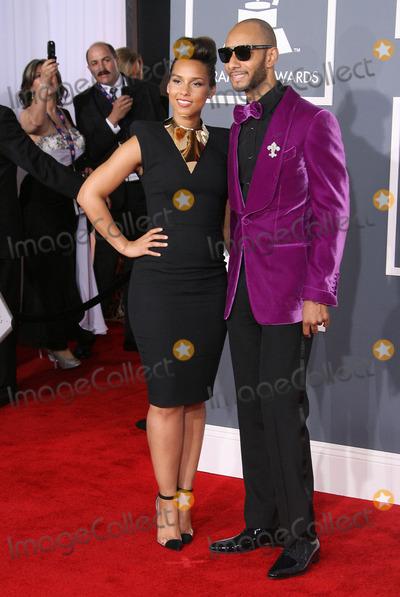 Alicia Keys, Swizz Beatz, Grammy Awards Photo - 12 February 2012 - Los Angeles, California - Alicia Keys and Swizz Beatz. The 54th Annual GRAMMY Awards held at the Staples Center. Photo Credit: AdMedia