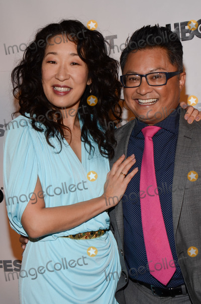 Alec Mapa, Fusion, Sandra Oh Photo - 15 March 2014 - Hollywood, California - Sandra Oh and Alec Mapa. 2014 Outfest Fusion Achievement Award at the 2014 Fusion Gala LGBT People of Color Film Festival held at the Egyptian Theatre. Photo Credit: Tonya Wise/AdMedia