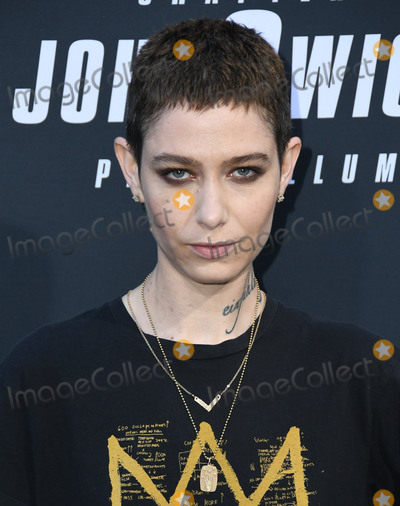 "TCL Chinese Theatre, John Wicks Photo - 15 May 2019 - Hollywood, California - Asia Kate Dillon. ""John Wick: Chapter 3 - Parabellum"" Special Screening Los Angeles held at the TCL Chinese Theatre. Photo Credit: Birdie Thompson/AdMedia"