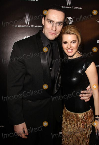 Alexander Nevsky Photo - 15 January 2012 - Hollywood, California - Alexander Nevsky, Oxana Sidorenko. The Weinstein Company 2012 Golden Globe Awards After Party held at  Bar 210 at the Beverly Hilton Hotel. Photo Credit:Charles Harris/AdMedia